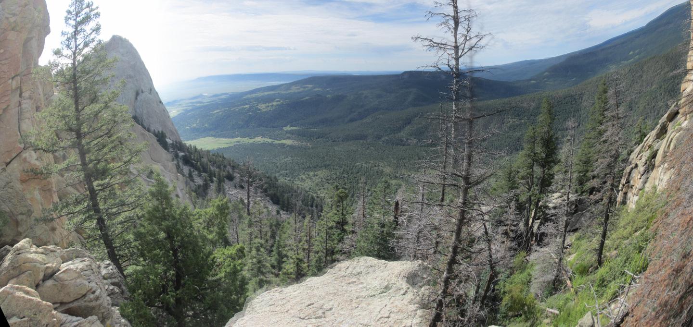 Shaefers Peak trail
