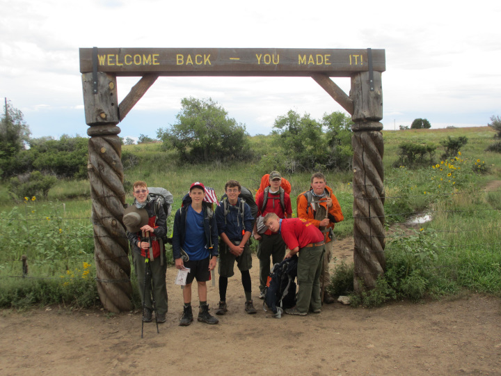 Trail Entrance to Base Camp