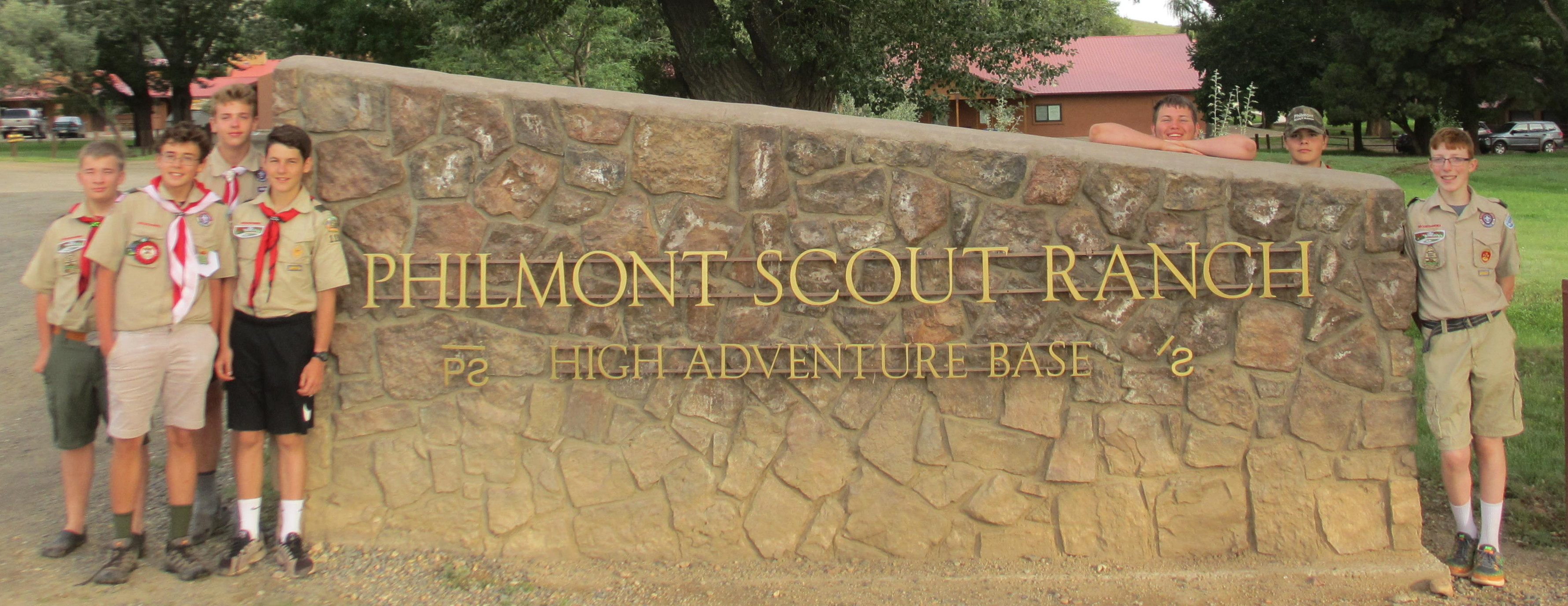 Last Photos at Philmont before heading out
