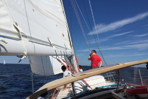 Rodney Sailing Chesapeake WZ